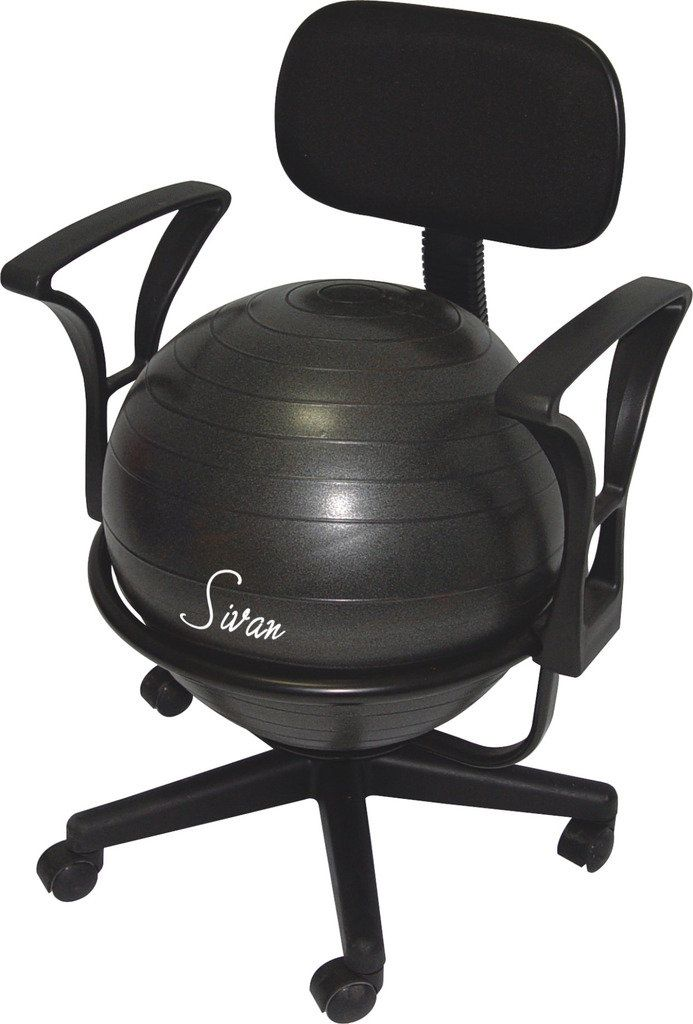 Sivan Health And Fitness Exercise Ball Chair Exercise Ball Chairs Office Ball Chair Ball Chair