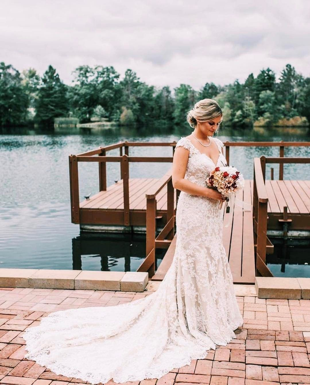 Elite wedding dresses  Elite Bride Courtney in Martina Liana  Photo by McDonald Video and