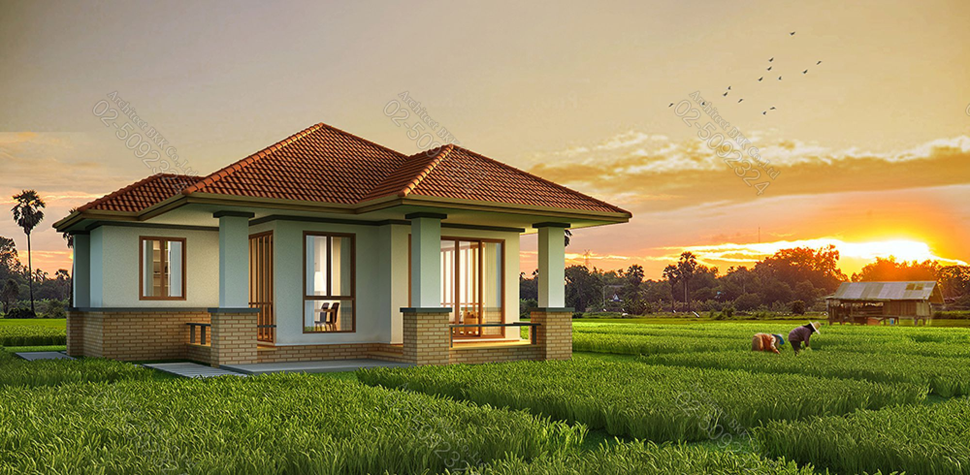 3d House Plans 1st Floor For Construction Thailand 3d House Plans House Plan Gallery House Plans