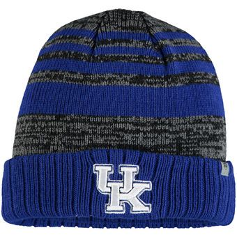 Kentucky Wildcats Top of the World Youth Echo Cuffed Knit Hat - Royal/Gray