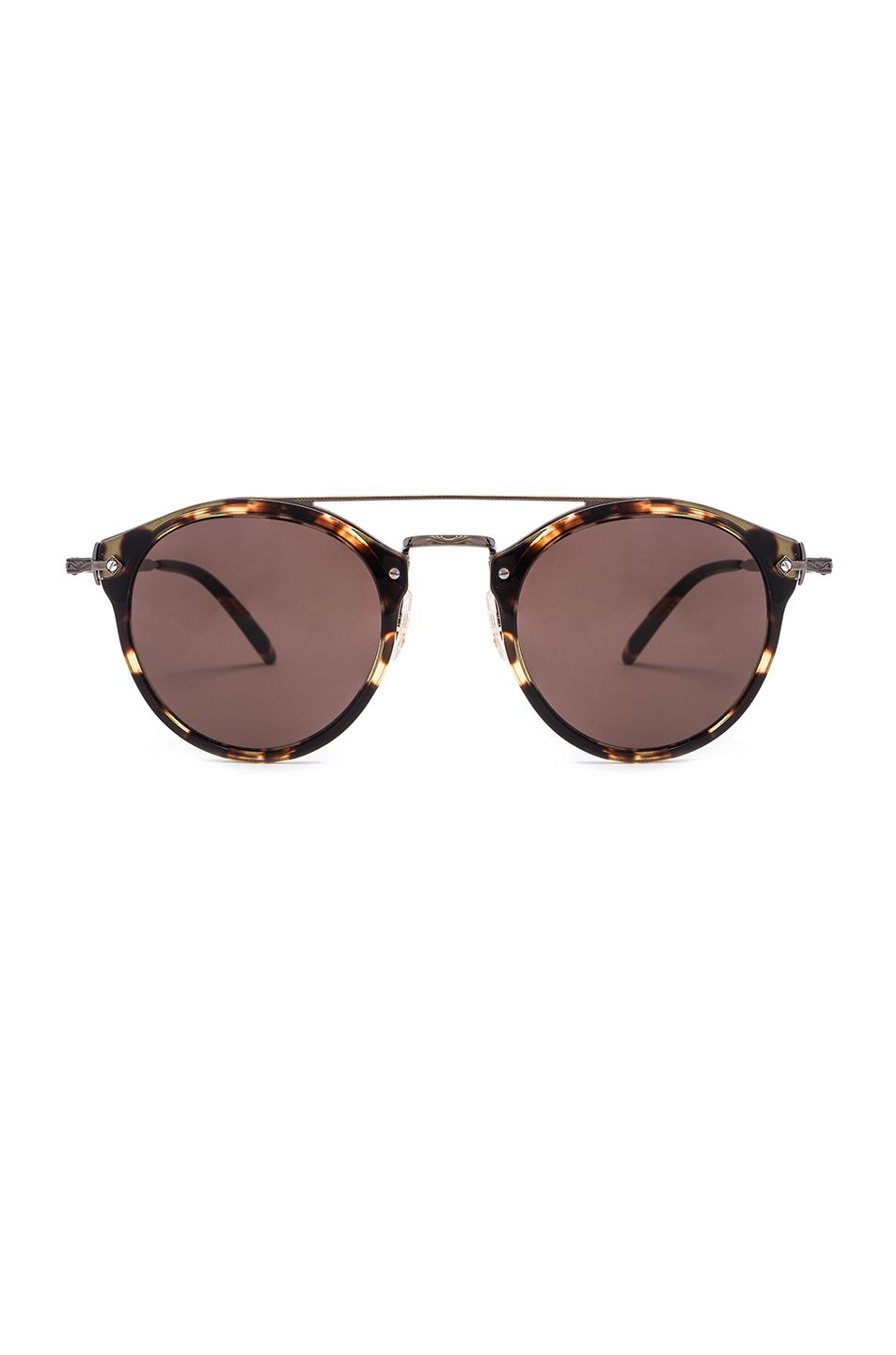 2eeb7413f0 Oliver Peoples Remick Sunglasses in Vintage & Antique Gold | FWRD ...