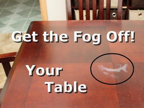 White Heat Stain From Wood Furniture, Removing White Heat Stains From Wood Furniture