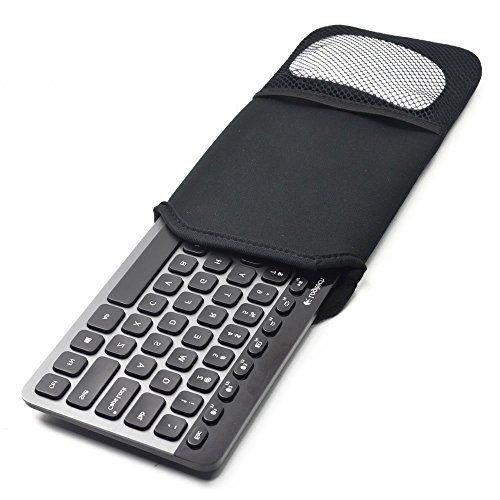 Amerzam Soft Neoprene Protection Case Carrying Pouch Cover Case Bag for Logitech K810 Logitech K811 Bluetooth Keyboard (Black) http://ift.tt/2jtXmFa