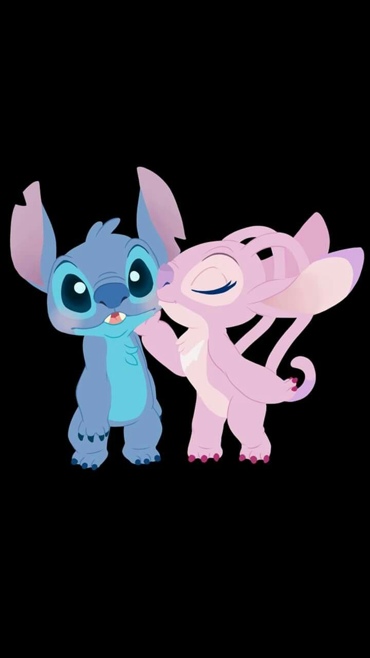 Stitch And Angel Stitch And Angel Wallpaper Iphone Cute Angel Wallpaper