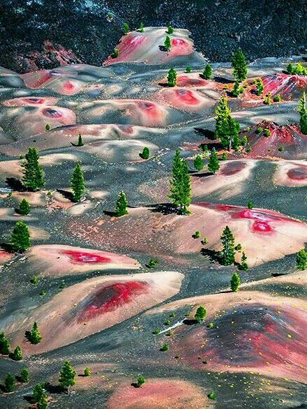 Painted Dunes Volcanic