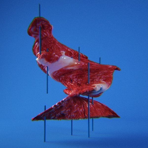 Meat on blue sticks #cgi #c4d #cinema4d #vray #meat #render #design by wearegladys