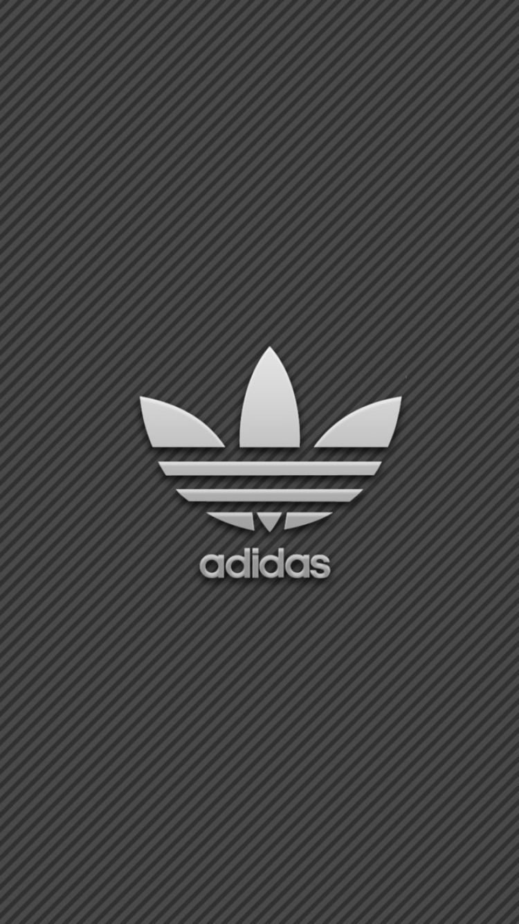 Iphone wallpaper yeezy - Download Wallpaper 750x1334 Adidas Brand Logo Iphone 6 Hd Background