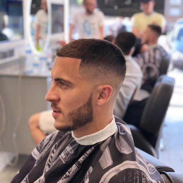 Eden Hazard Hairstyle Men S Short Hair Stylish Haircuts Short Fade Haircut