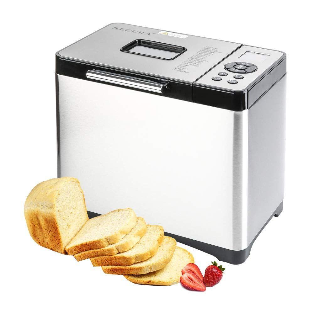 Secura Bread Maker 2 2 Pound Toaster Machine Mbf 016 Multi