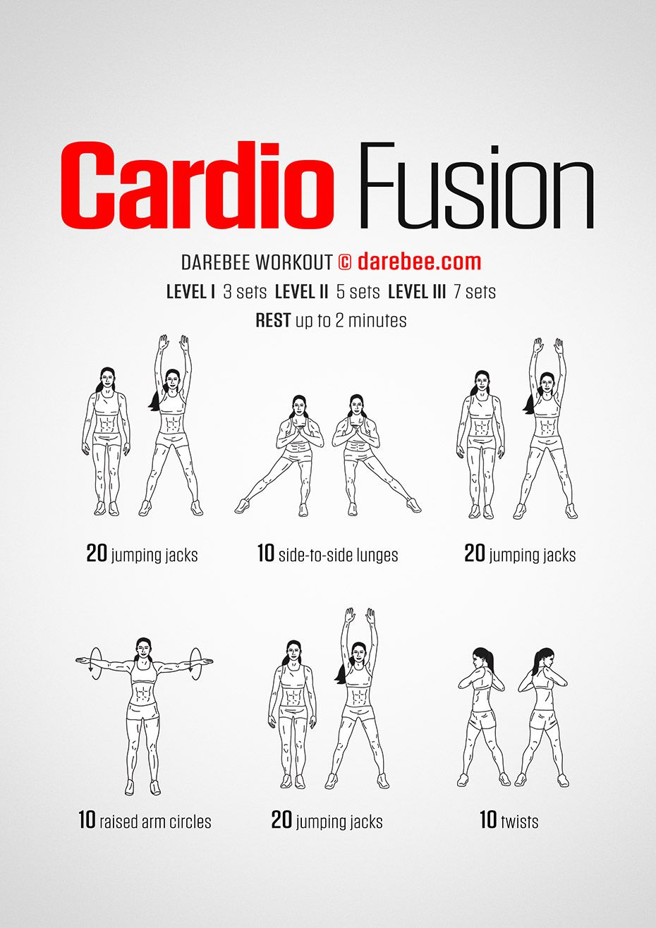 Cardio Fusion Workout | Posted By: AdvancedWeightLossTips.com ...