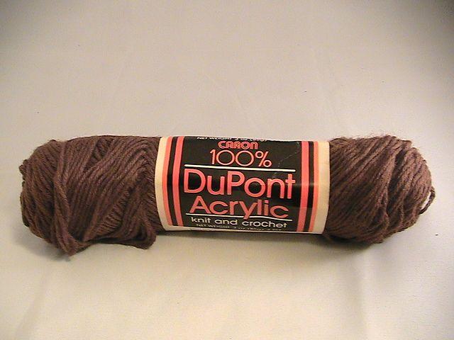 Ravelry: juliew8's Caron 100% DuPont Acrylic (Walnut)