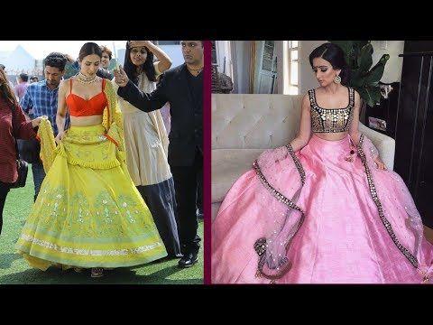 0004e222f7 Latest Fashionable Cancan Lehenga Designs Lehenga Designs, Two Piece Skirt  Set, Two Pieces,