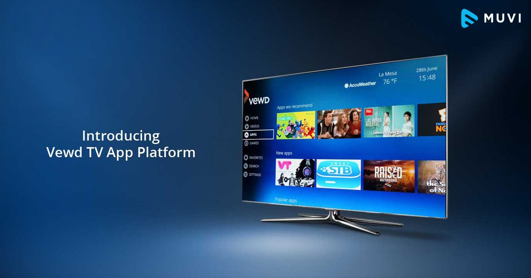 Launches New Tv App Platform For Vewd Os With Images Tv App