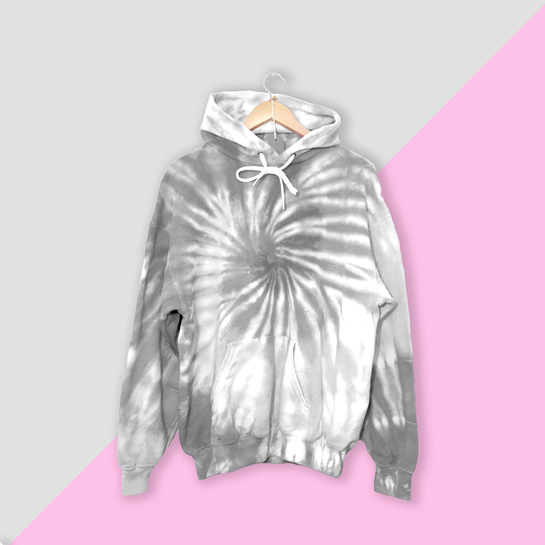 Grey Spiral Tie Dye Hoodie Tie Dye Tie Dye Hoodie Festival Etsy Tie Dye Hoodie Custom Hoodies Tie Dye Fashion [ 3000 x 3000 Pixel ]
