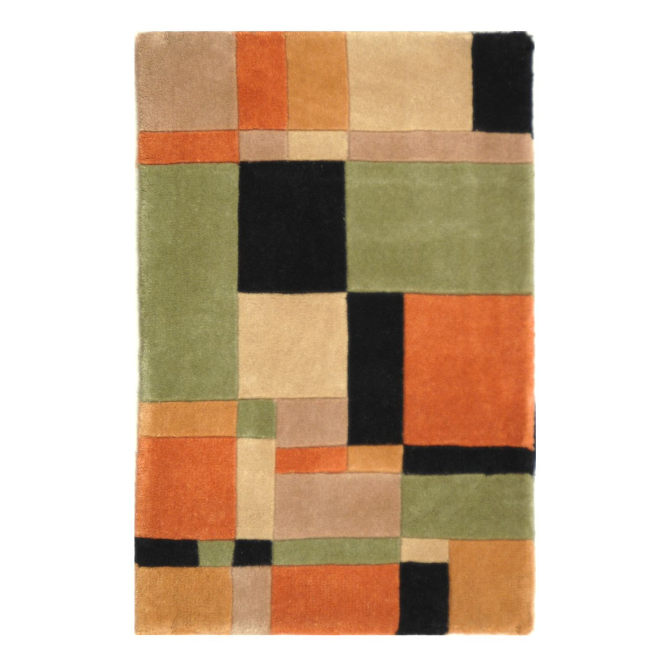 Safavieh RD862A Rodeo Drive Area Rug, Rust Rugs, Quality