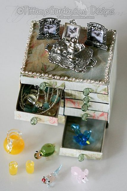 Matchbox Dresser Template by TiffanyDoodles, via Flickr