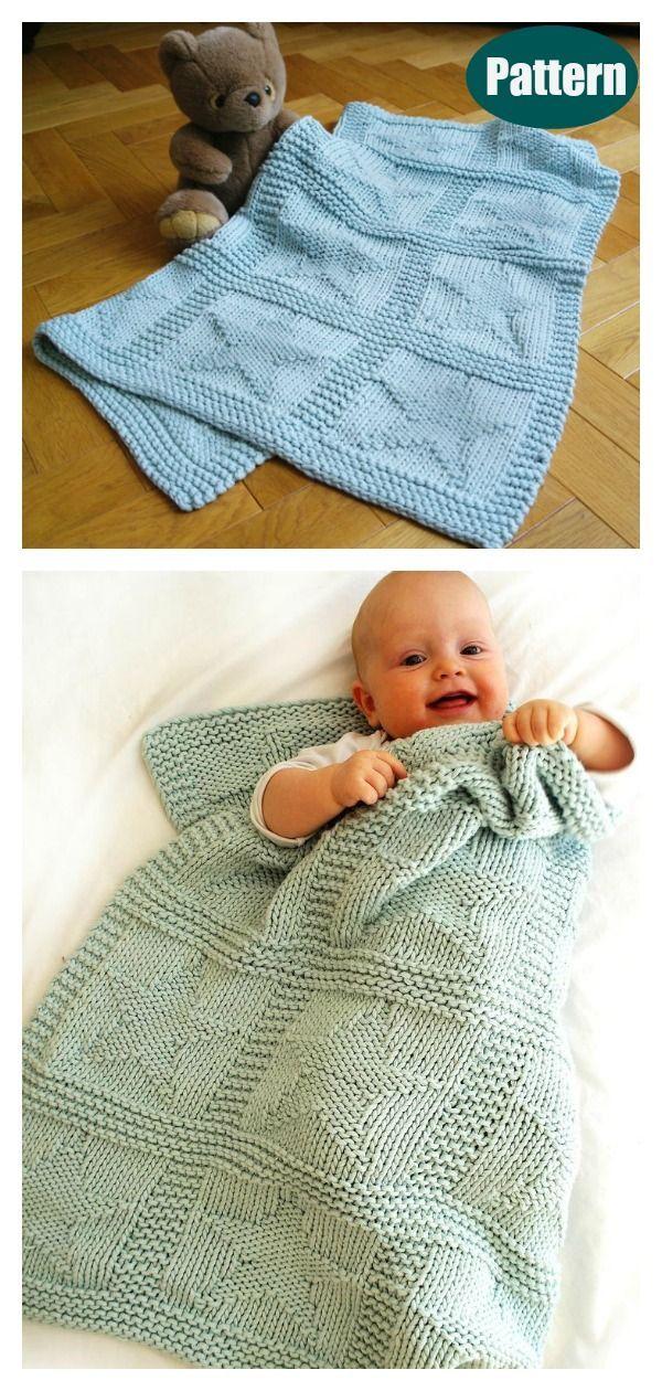 Photo of Stars Baby Blanket Knitting Pattern Kostenlos & Bezahlt – In den ersten Monaten …