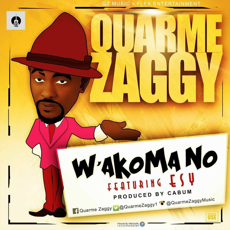 When I first heard this hi-life singer Quarme Zaggy it was on the song 'Just the two of Us'. The latter was a huge success and it featured Rap Dactor Okyeame Kwame.Since then I have been following his works till date and I can testify that this brother is good ...
