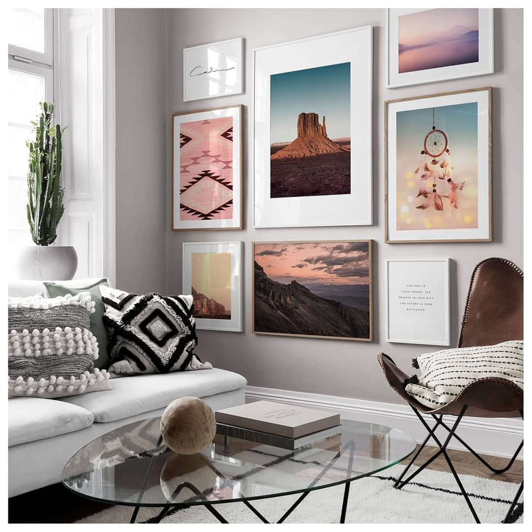 9 790 Likes 48 Comments Desenio Posters Online Desenio On Instagram Ready To Revamp Your Interior Y In 2020 Gallery Wall Living Room Gallery Wall Wall Decor