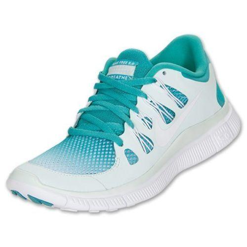 815b3aad80d9d Brand New Women s Nike Free 5 0 Breathe 580601 313 Turquoise Gradient