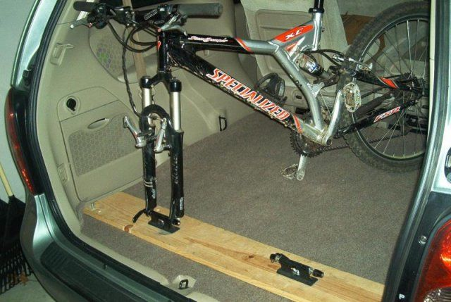 bicycle transport vehicle take your bicycle in your van. Black Bedroom Furniture Sets. Home Design Ideas