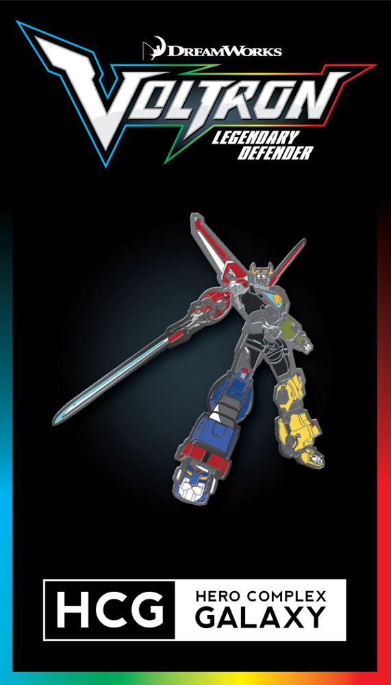 "- Inspired by Voltron: Legendary Defender - Enamel Pin - Approximately 1.25"" x 1.25"" DreamWorks Voltron Legendary Defender © 2016 DreamWorks Animation LLC. TM World Events Productions, LLC. All Rights"
