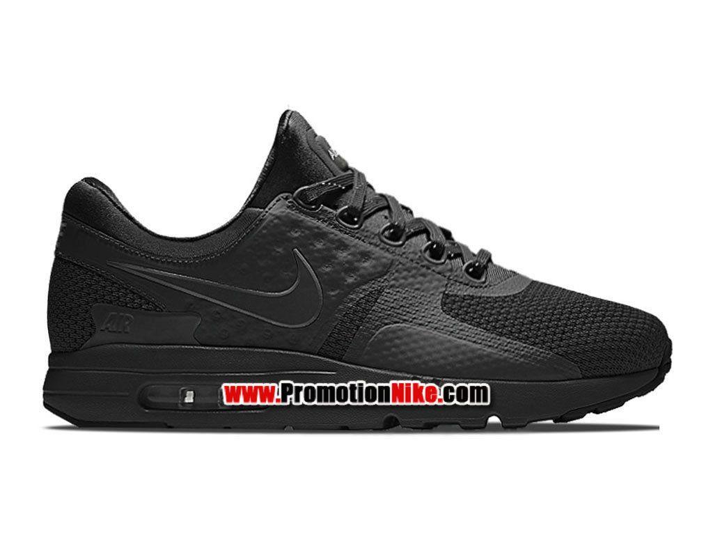 Nike Air Max Zero Chaussure Mixte Nike Sportswear Pas Cher Pour Homme Noir  789695-001