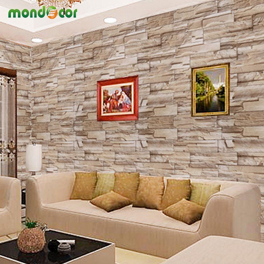 0 4mx10m Home Decor Wall Decals Pvc Vinyl Brick Waterproof Wall