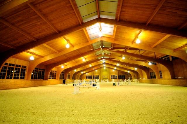 In Love With This Indoor Riding Arena Barn Stuff