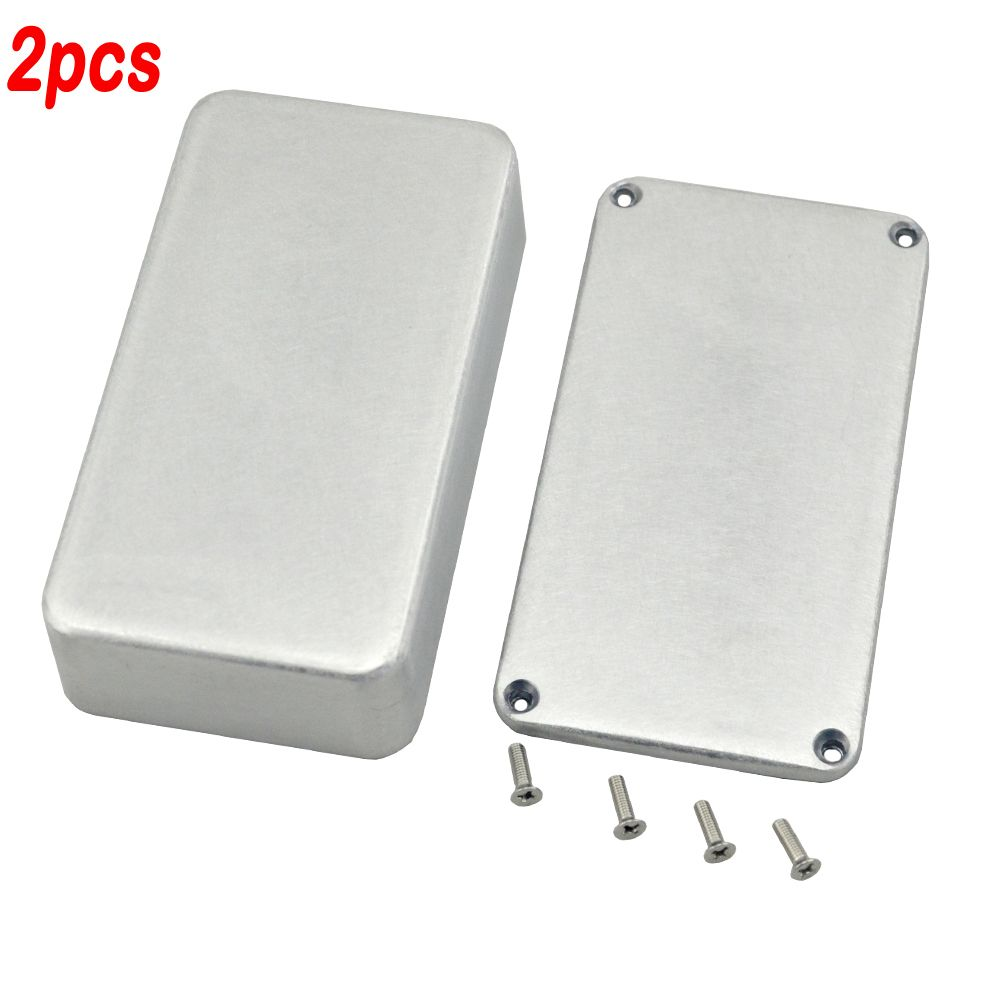 61718c0a2a 1590B Hammond guitar Effects Pedal Aluminum Stomp Box Enclosure for  Electric Guitar Accessories&parts free shipping