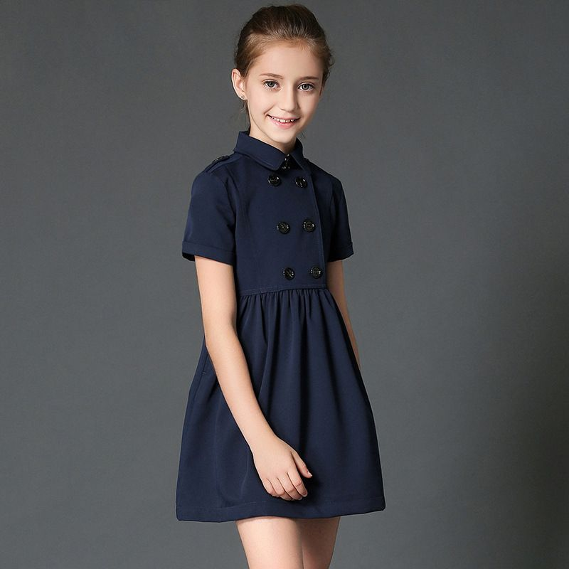 a4dafd490c0c Click to Buy << british style teenage girls dress sundresses short sleeve  costumes children clothing 8 12 years girl clothes fancy frocks #Affiliate