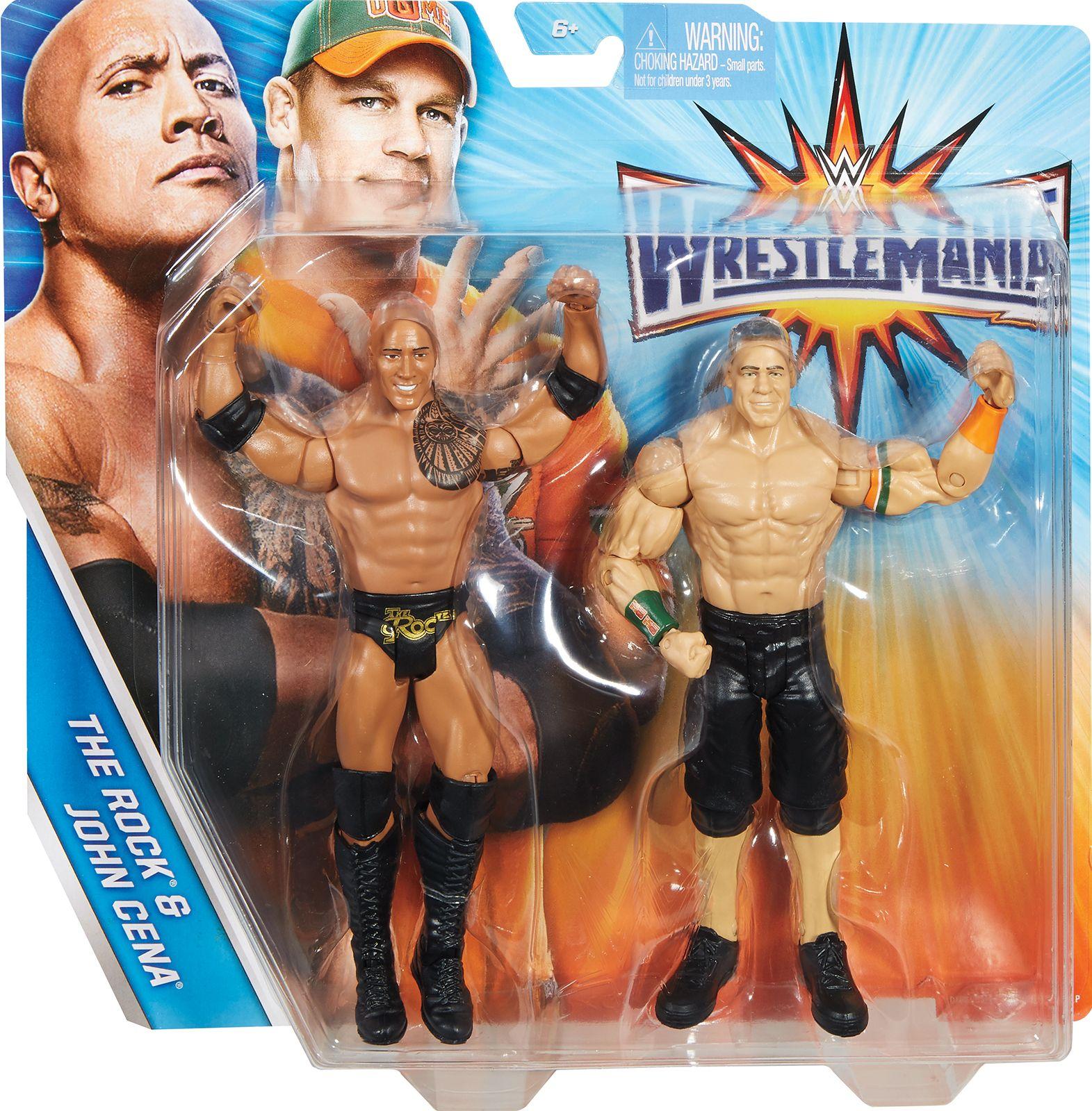 Roman Reigns vs John Cena WWE Battle Pack