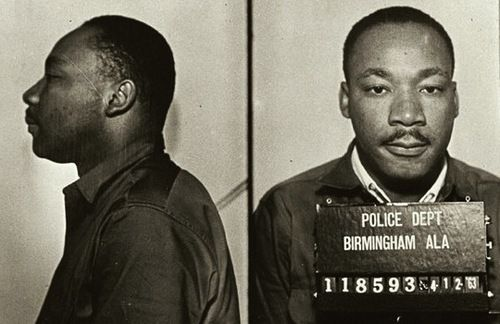 When you stand up to tyranny, it will determine the content of your character. #MLK #CivilRights