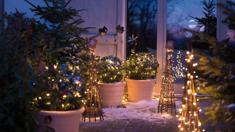 Deco Noel Exterieur Idees Deco Pour Jardin Et Terrasse Deco Noel Exterieur Decoration Noel Exterieur Et Jardin De Noel