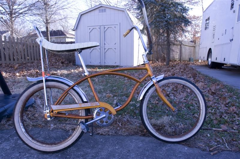 Schwinn 1965 Stingray Deluxe youth bike