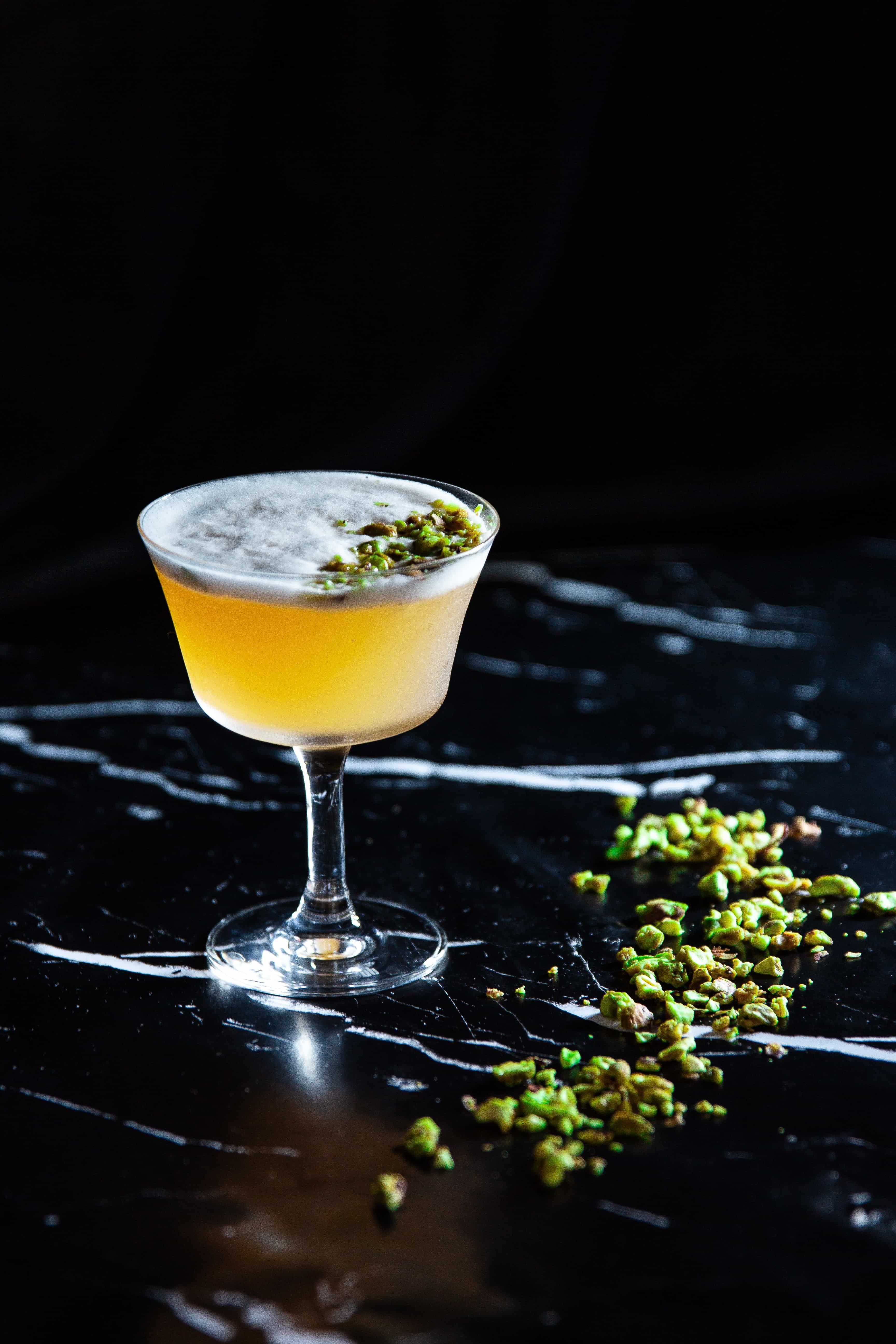 Gin pistachio sour liquid culture recipe gin sour