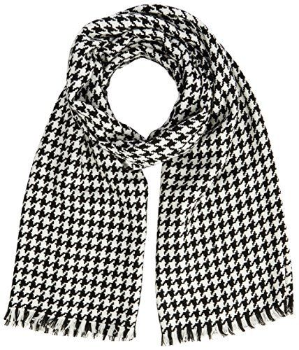 United Colors of Benetton Dogtooth Print Scarf - Echarpe - Femme, http   .  Foulard HoundstoothÉcharpes 13e8abd9d65