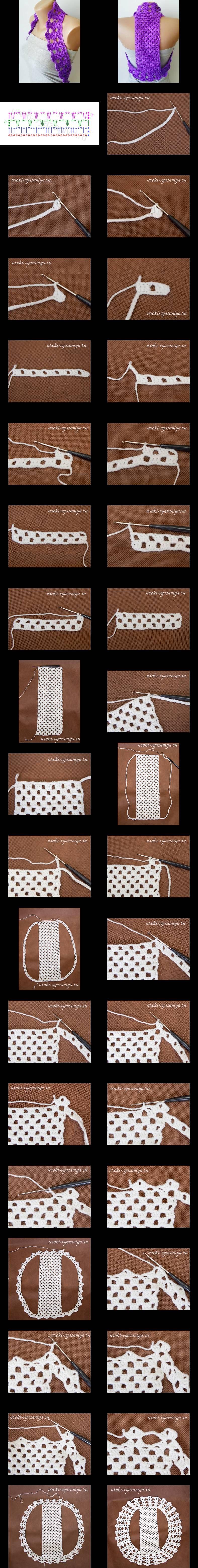 DIY Bolero Crochet DIY Projects | UsefulDIY.com Follow Us on Facebook ==> http://www.facebook.com/UsefulDiy
