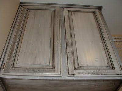 Best Grey Glazed Cabinets Distressed Kitchen Cabinets Glazed 400 x 300
