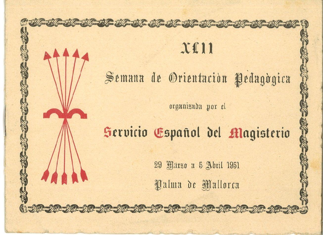 1951 Servicio Español Del Magisterio Palma De Mallorca Palma De Mallorca Mallorca Manualidades
