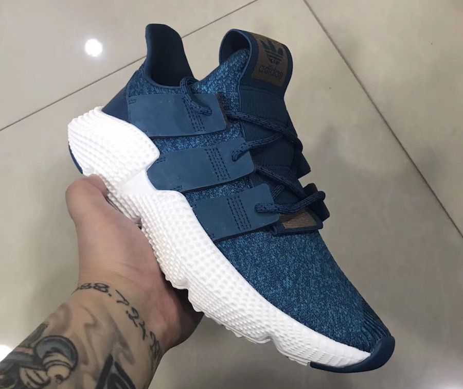 A First Look At The adidas Prophere Peacock Blue • KicksOnFire.com ... f81605a5a