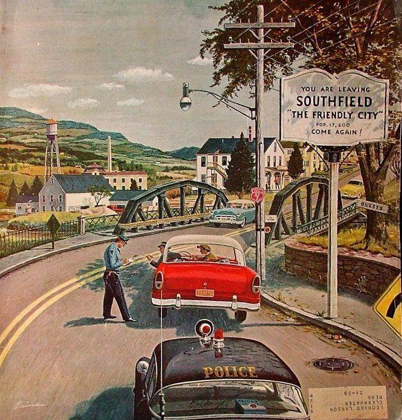*Friendly City...Ben Kimberly Prins (1902-1980