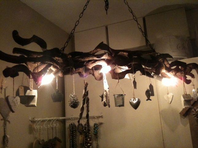 Takken lampen ideetjes voor in huis pinterest takken lampen en decoratie - Decoratie van een gang ...