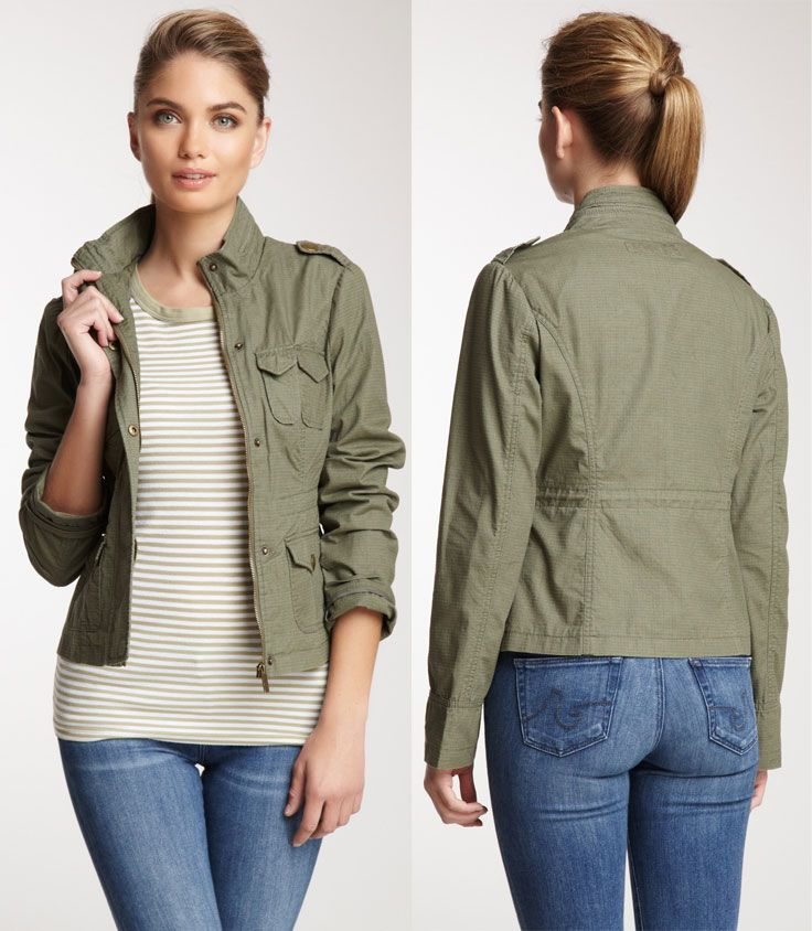 """REALLY WANT IT :: Blanc Noir Army Jacket :: $60 (went on sale for $55), Retail $120 (54% off) 