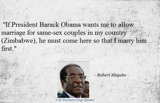 Image result for images mugabe mocks obama on gay