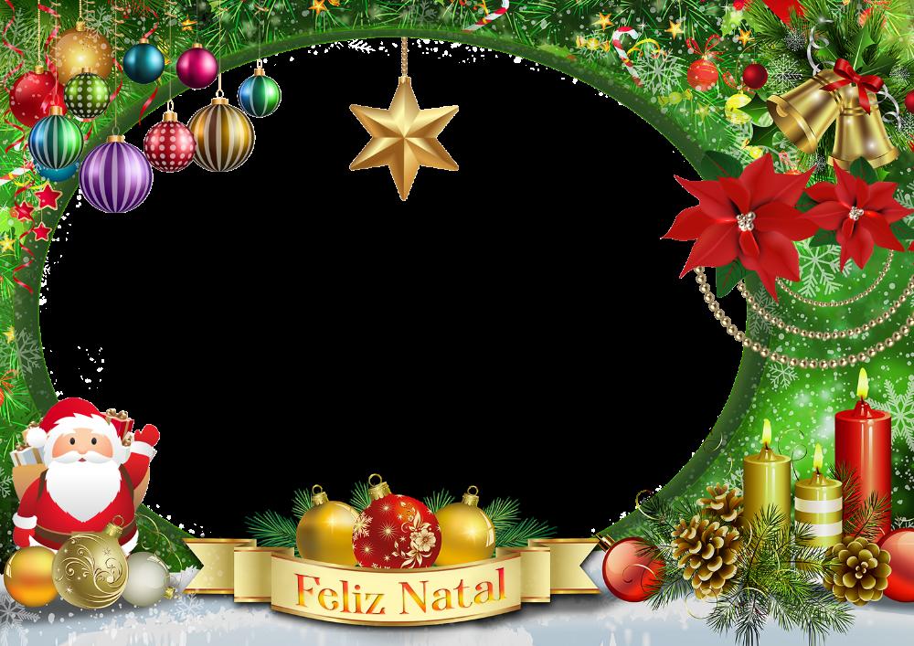 Moldura De Natal Png Enfeites De Natal Decoracao De Natal
