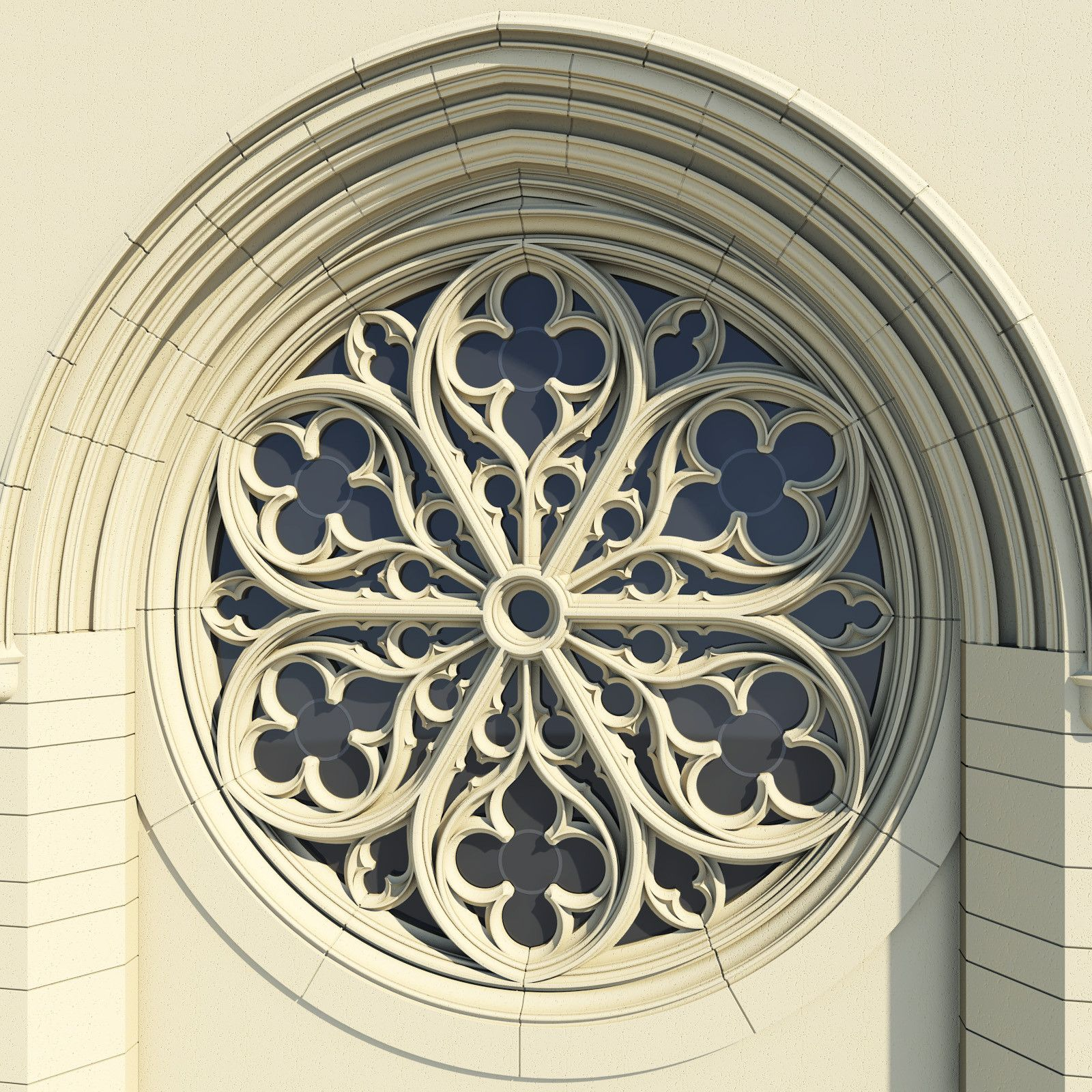 Maya Gothic Rose Window