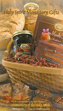 "Divine fudge & natural honey in a heavenly gift basket from Holy Spirit Monastery Gifts ... win to send one to a friend in the ""Sending all my Love ..."