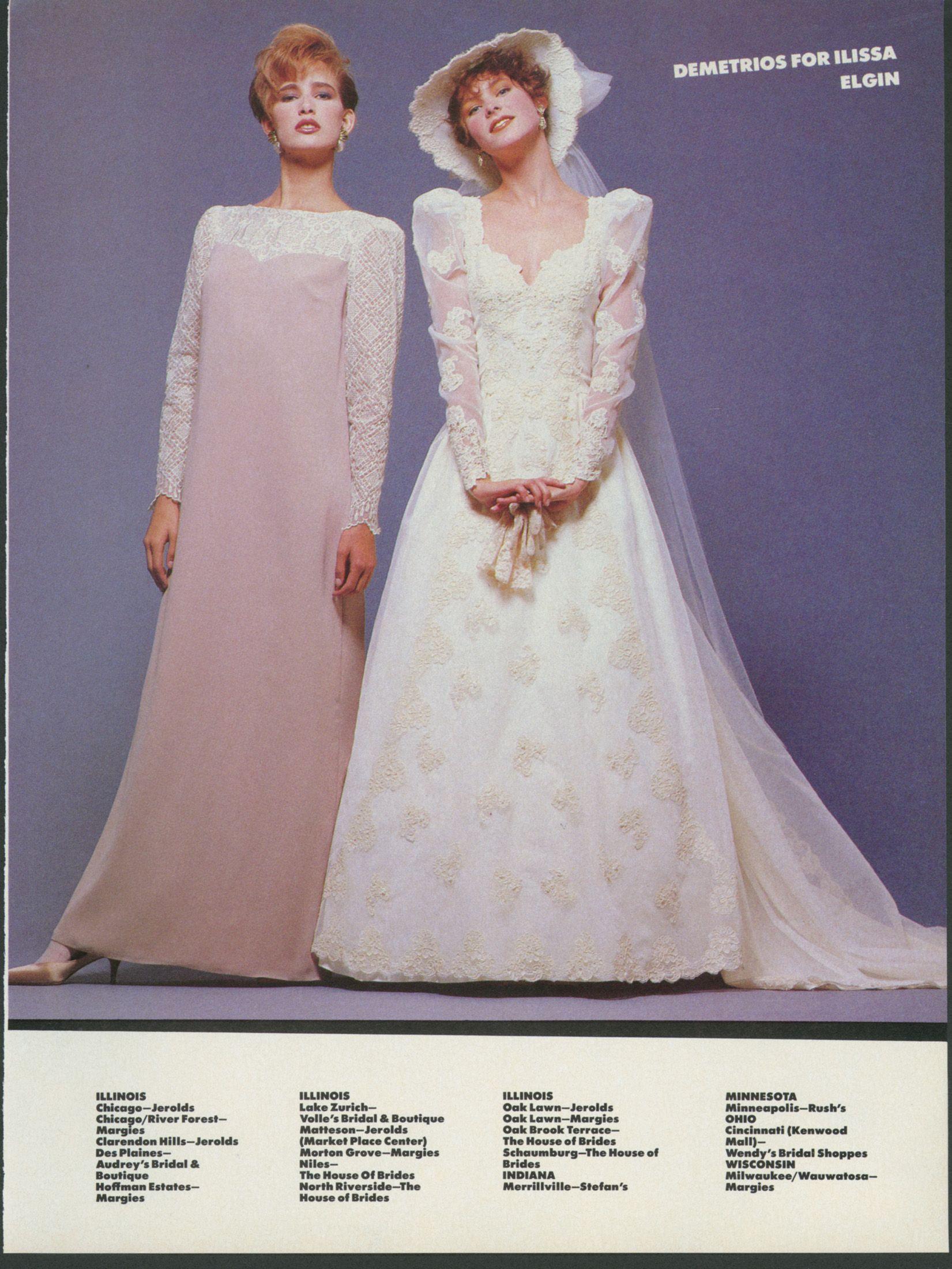 Brides Dec 1984 Jan 1985 Wedding Gowns Vintage Wedding Dresses Vintage Designer Wedding Dresses [ 2200 x 1651 Pixel ]