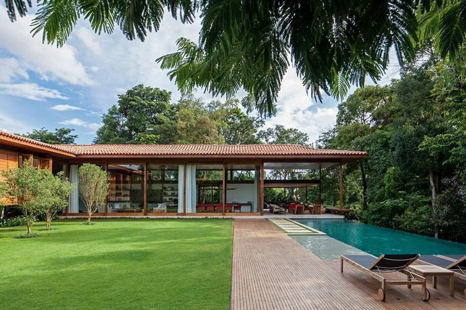 183 casas campestres modernas dise os interiores y - Dibujos de casas modernas ...